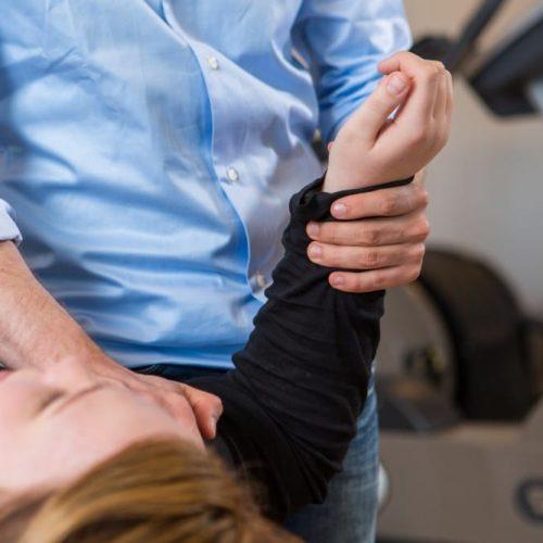 Fysiotherapie frozen shoulder