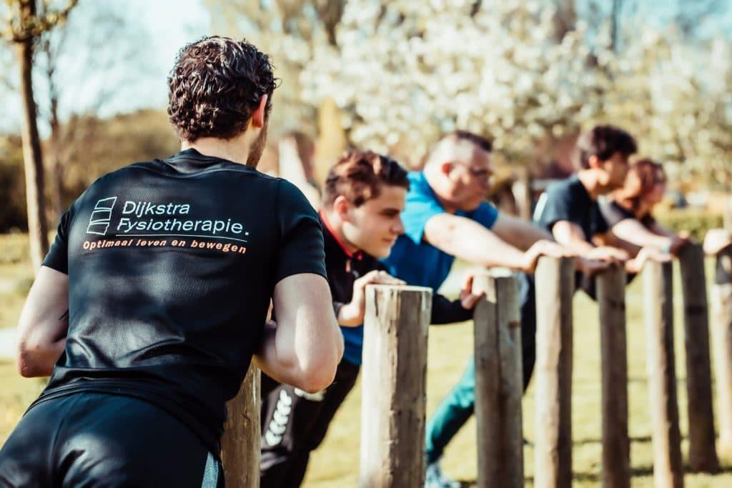 Dijkstra Fysiotherapie DijkstraFit Outdoor sporten met fysiotherapeut